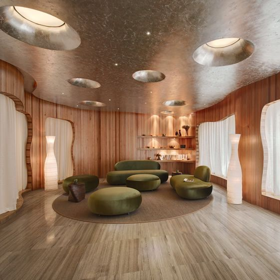 One Taste Holistic Health Club, Hangzhou – a calming health club with beautiful wooden construction / via we Heart it