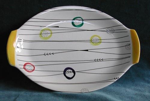 STAVANGERFLINT plate 1950's - Jessie Tait