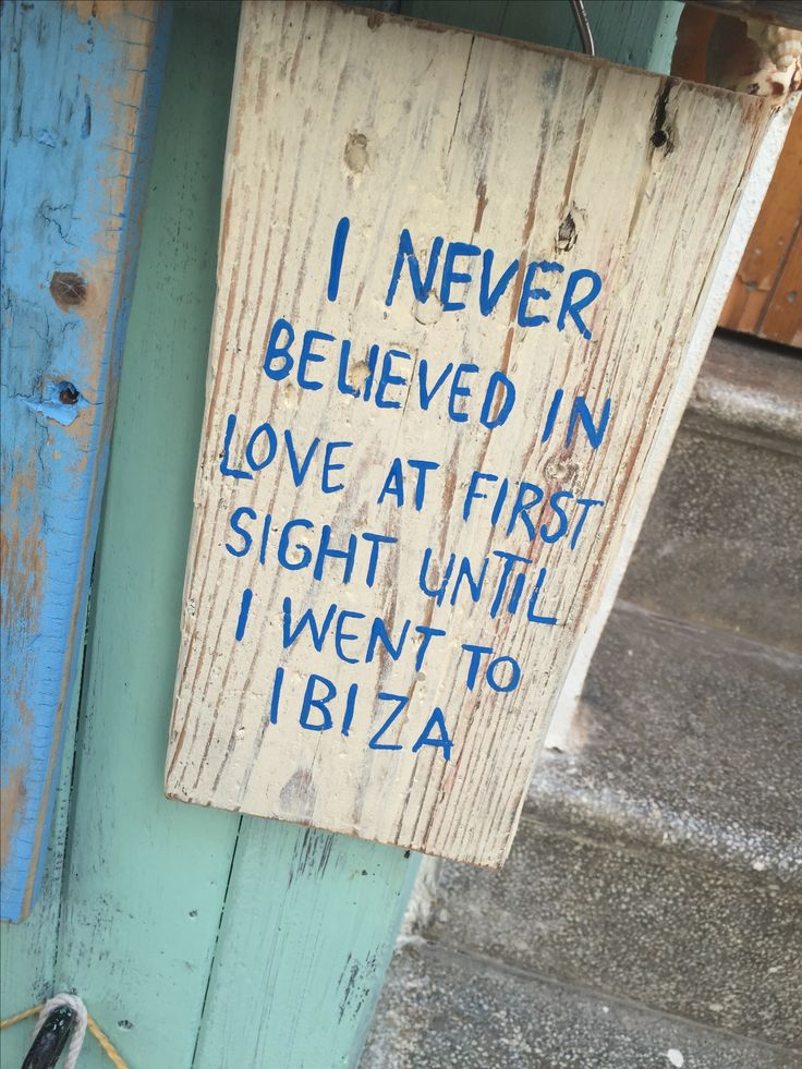 I never believed in love at first sight until I went to Ibiza - © Ilona Huntjens