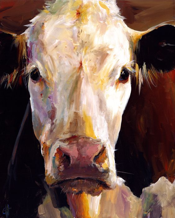 gladys the cow by cari humphry gladys the cow painting