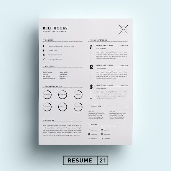 25 best Resume Templates images on Pinterest Resume templates