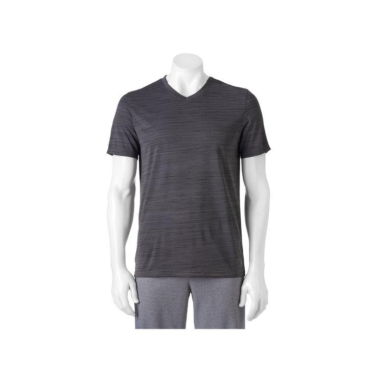 Big & Tall FILA Sport® Slubbed Muscle Tee, Men's, Size: Xl Tall, Grey