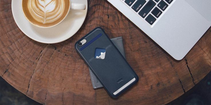 Bellroy Phone Case 3 Card is a slim leather iPhone 6 case with quick card access.