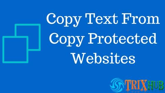best and easy way to disable right click protection on sites. Easily copy text and images from right click disabled websites. easily copy website content...