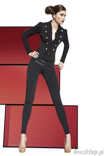 Stylowe …. Efektowne legginsy doskonałe na każdą okazję ! Fenomenalne zameczki z przodu mogą pełnić funkcję kieszeni. Cztery guziczki nadają nietuzinkowego charakteru. Z lewej strony #zamek. Końce zwężających się nogawek obszyte mocna, podwójną nitką. Produkt ma bardzo dobrą jakość oraz surowce – rzeczywistość zdziwi każdą kobietę Grubość 200 Den. Skład: 85% Poliester, 15% Elastan.... #Legginsy - http://bmsklep.pl/legginsy