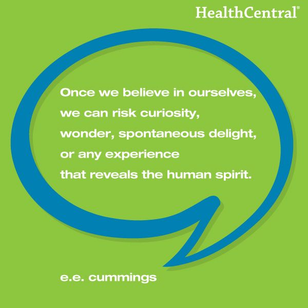 A great motivational quote from e.e. cummings. #HealthCentral