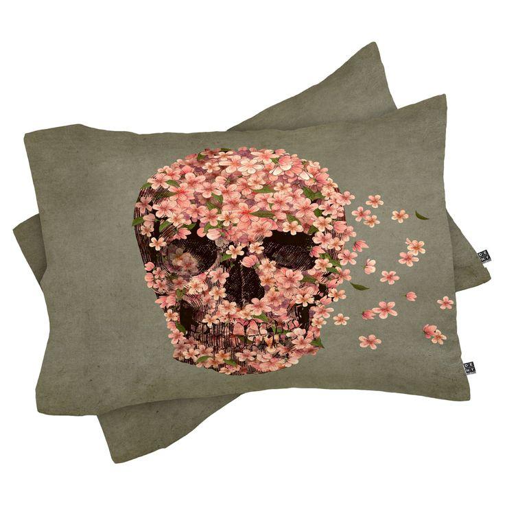 Terry Fan Reincarnate 2 Piece Pillow Sham by DENY Designs - 39097-PILKKT