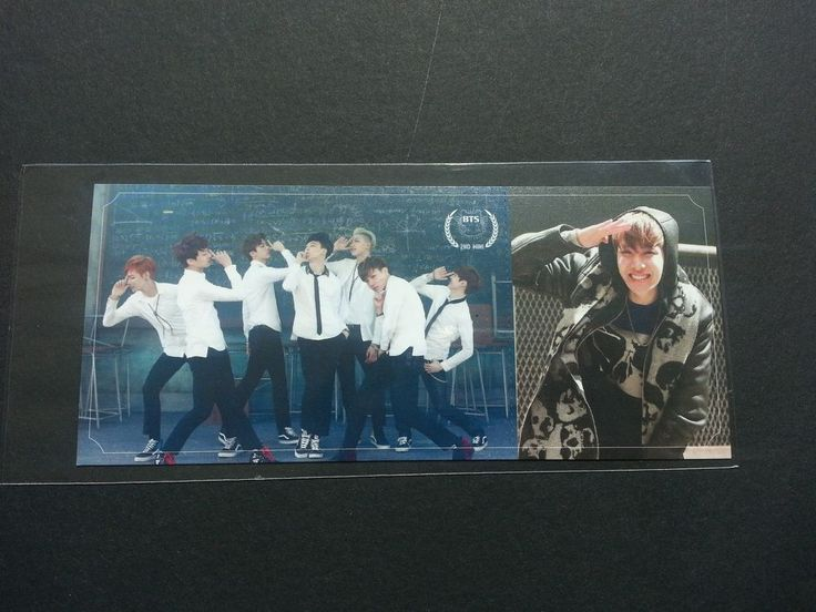 BTS J-HOPE Official Photo Card 2nd Mini Album Skool Luv ...
