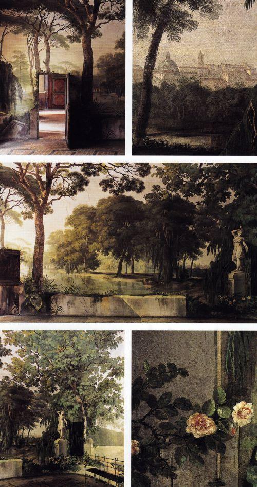landscape wall murals