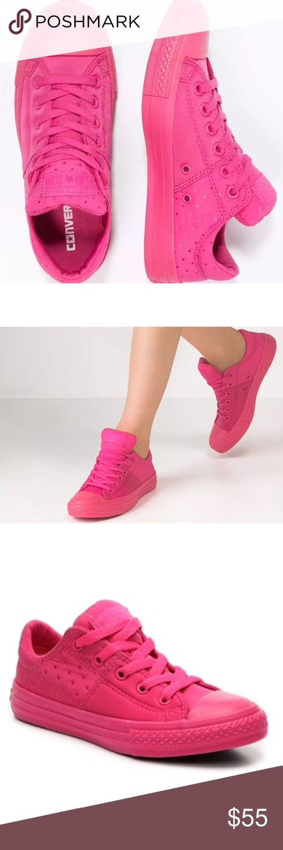 Converse size 6 pink Madison shoes Brand new without box Converse Shoes Sneakers
