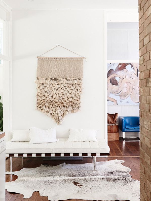 Beautiful wall hanging for an entrance hall