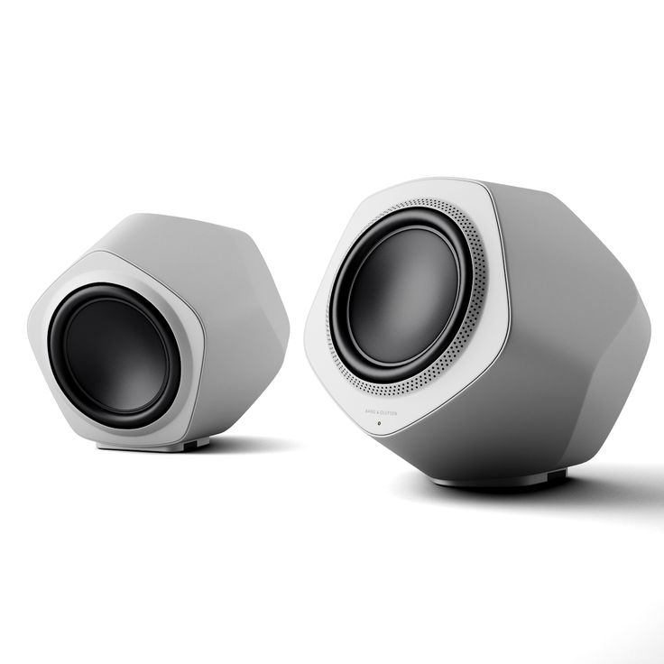 The BeoLab 19 – a formula of beauty. With striking geometric planes that change their aspect and hue depending on your viewing angle. http://dimensiva.com/beolab-19-by-bang-olufsen/