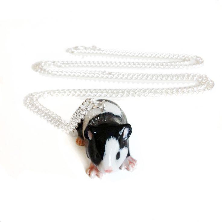 Guinea Pig Porcelain Necklace, £20.00 by Cheap Frills