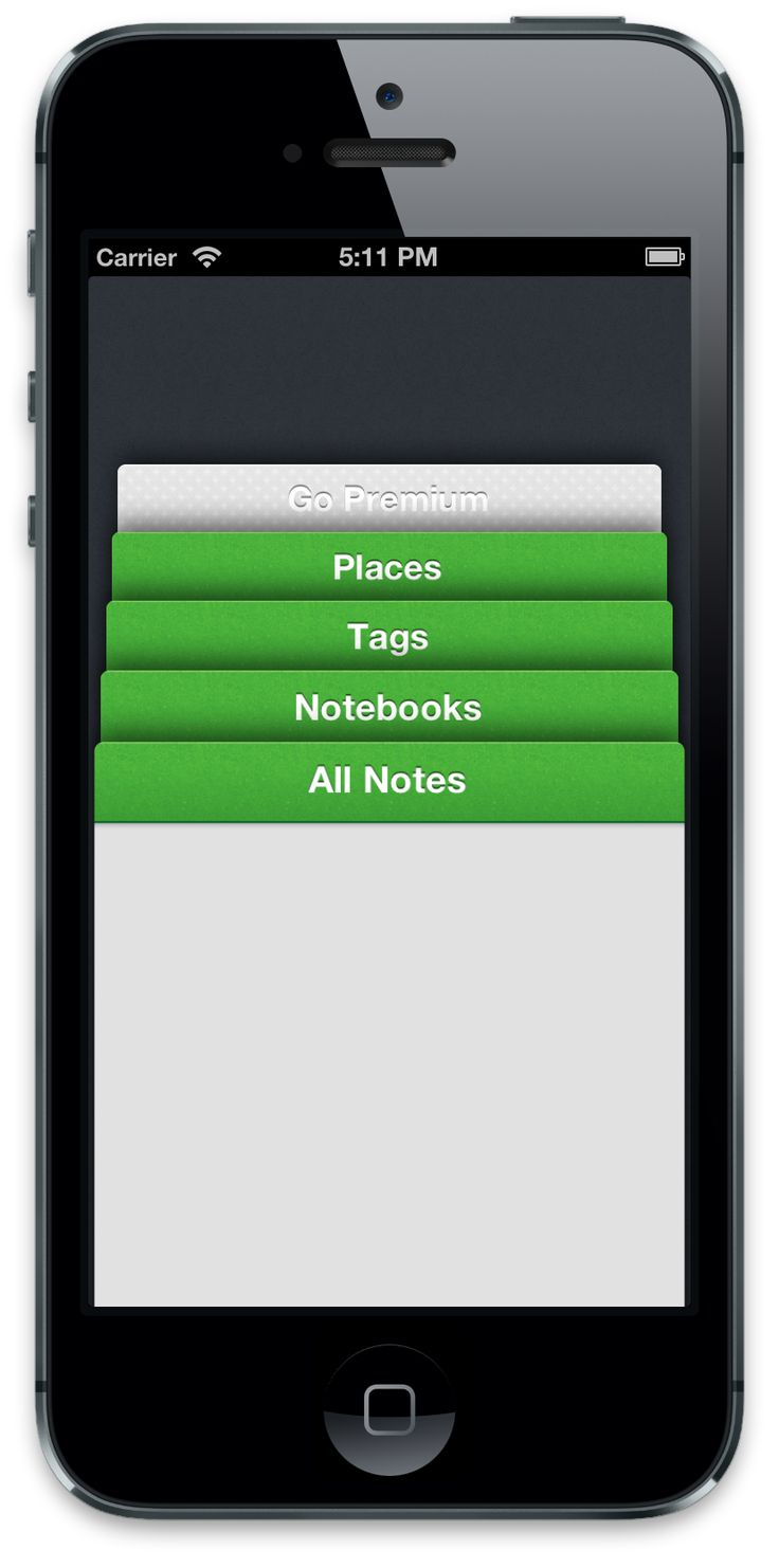 A view controller that organizes multiple navigation controllers in a stack inspired by Evernote 5.0 app
