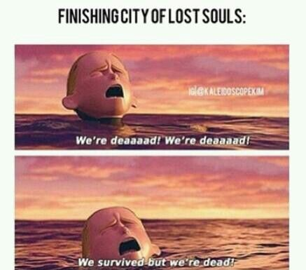 City of lost souls the mortal instruments   Softball Practice  Funnies    City Of Lost Souls Page 511