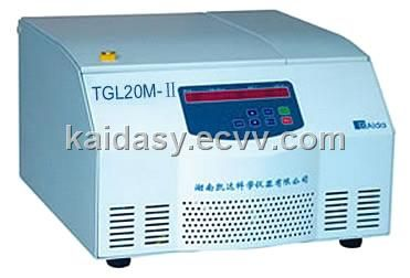 TGL20M-2 Table-Type High-Speed Large-Capacity Refrigerated Centrifuge (Refrigerated Centrifuge) - China Centrifuges, Centrifuge Kaida