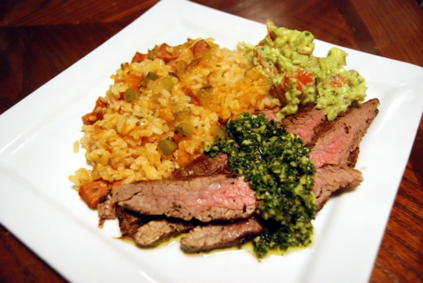 Amazing food blog, The Food in My Beard. Loads of really inventive recipes: Style Rice, Flank Steak, Paella Style, Food Blog