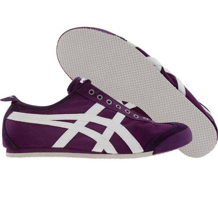 Womens Mexico 66 Classic Running Shoe, Aster Purple/Aster Purple, 9.5 M US Onitsuka Tiger