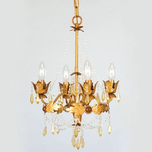 Livex Lighting 8184 4 Light Regal Mini Chandelier - Lighting Universe- nook