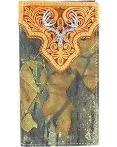 Nocona Mossy Oak Rodeo Wallet, Camouflage