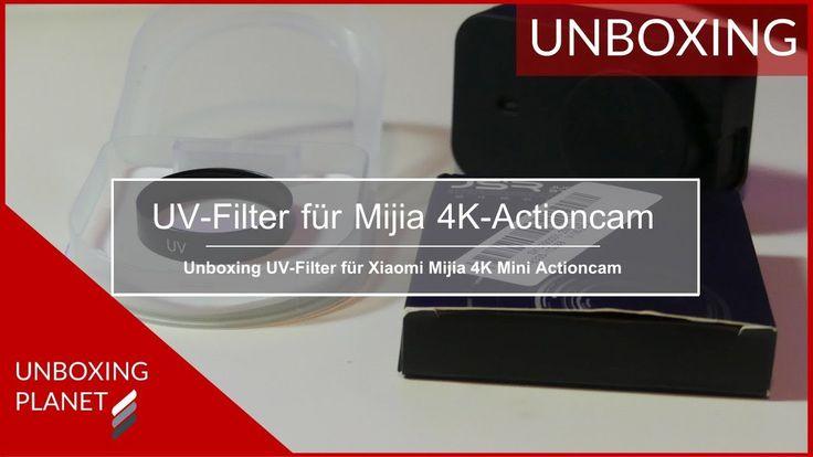 Ein UV-Filter für 4K-Actioncam Xiaomi Mijia #uvfilter #xiaomi #mijia #4kactioncam