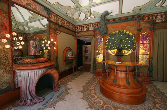 Georges Fouquet's shop, Paris, designed by Alphonse Mucha