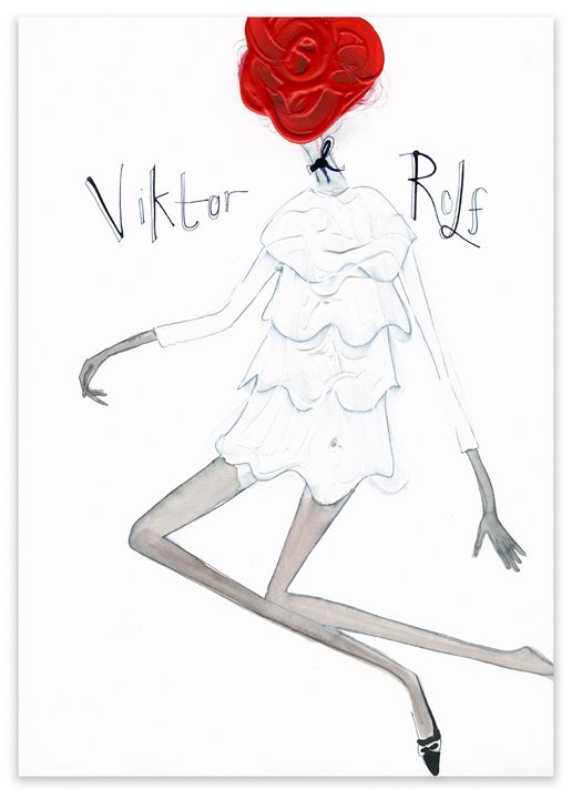 Viktor & Rolf International RTW Collections S/S 2008   by  Tanya  Ling