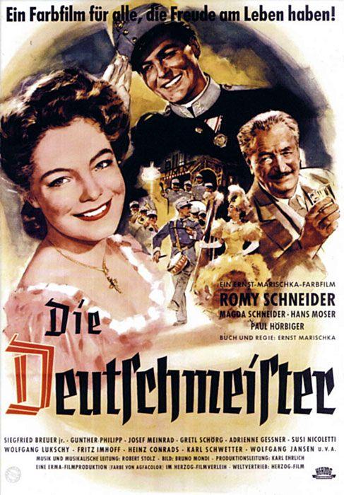 Poster zum Film: Die Deutschmeister. 1955