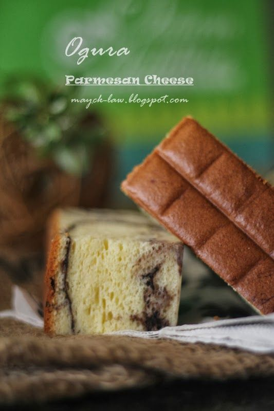 乳酪相思蛋糕 (Parmesan Cheese Ogura Cake)