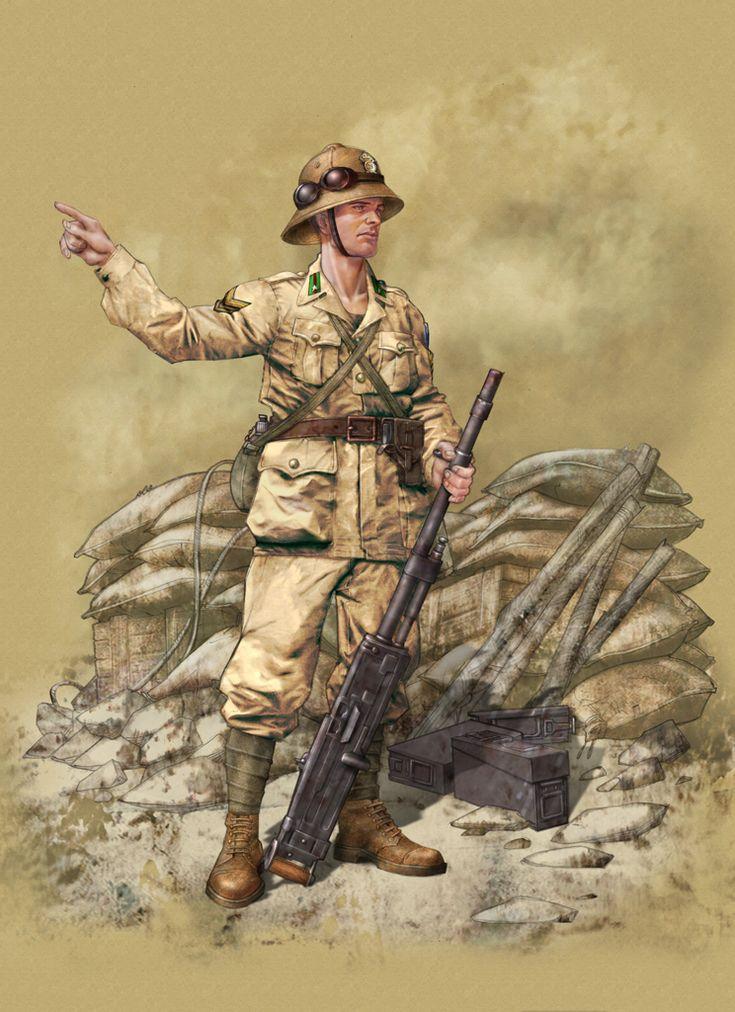"""Regio Esercito - Caporalmaggiore - RE, 28th Regiment 'Pavia' Infantry Divion, El Alamein""""1942"""