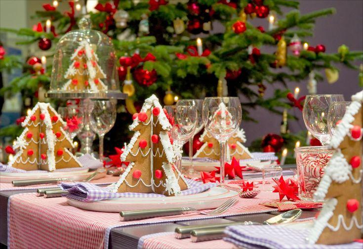 Tisch weihnachtlich dekorieren: 41 Deko- Ideen für Weihnachtstafel