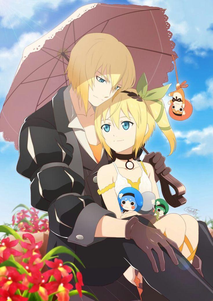 Edna and Eizen Tales of Zestiria