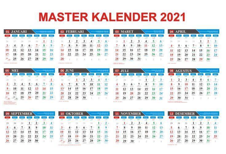 Download Gratis Master Kalender 2021 Lengkap Dengan ...