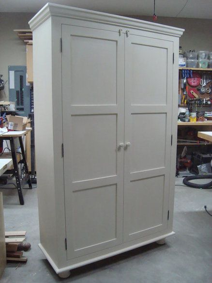 Free Standing Pantry-Just what I was looking for 72 high x 44 wide x 17 deep.