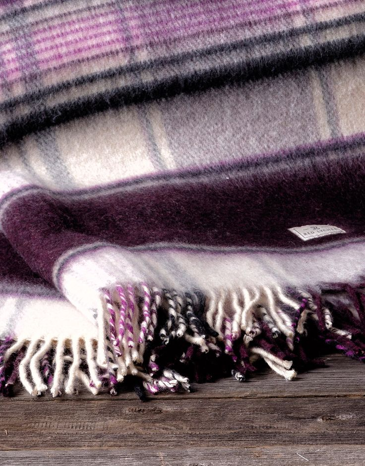 Belasco Wool Blanket. In a beautiful neutral tone is the perfect addition to any room and wonderfully complements existing decor.