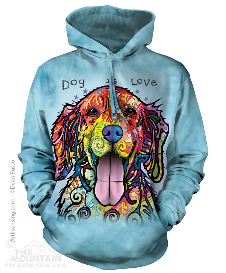 Dog is Love Sweatshirt Hoodie