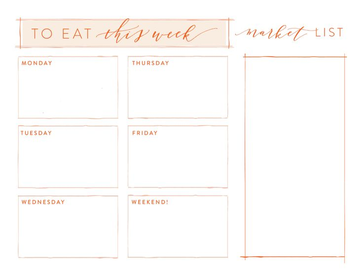 78+ ideas about Menu Planning Templates Pinterestissä - school menu template