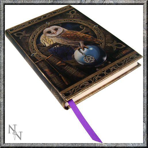 Kniha stínů fantasy - Sova na křišťálové kouli