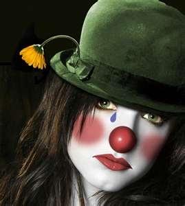 ClownsThe Face, Makeup, Ashl Simpsons, Phrases, House Art, Sadness Clowns, Circus, Halloween, Clowns Face