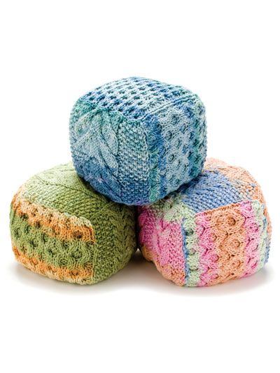 Cabled Baby Blocks Crochet Pinterest