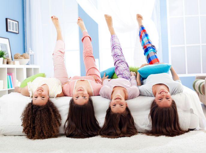 Лайфхак для родителей: пижамная вечеринка