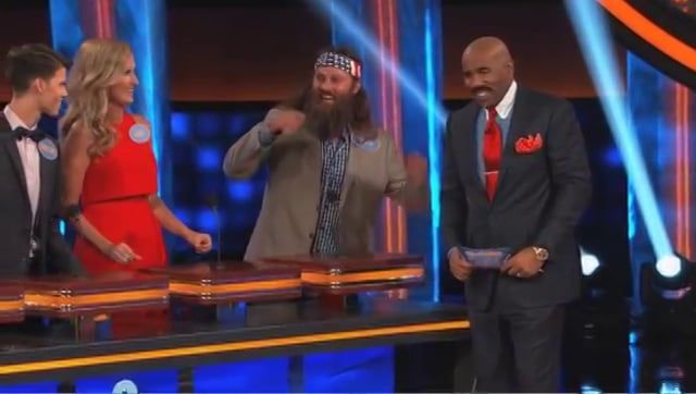 The Ducks Get Excited With Boob Answer - Celebrity Family Feud