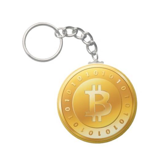 Llavero Bitcoin - M1    Más productos BITCOIN:  http://www.zazzle.es/lamareanaranja/regalos?cg=196938480424491766