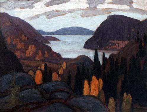 Lawren Harris - Caldwell Bay Study, 1923