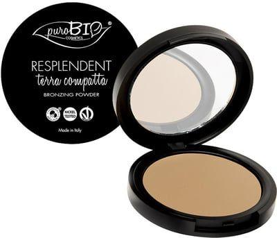 """puroBIO cosmetics Poudre Bronzante Mate """"Resplendissante"""" - 01"""