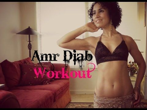 Belly dance  Amr Diab  workout  The complete workout with music