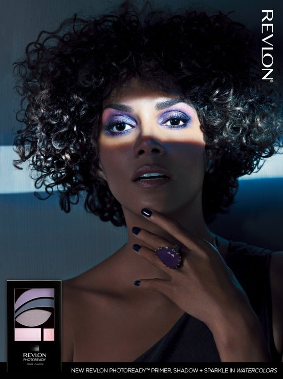 Brand ambassador Halle Berry looks flawless in our Revlon ...