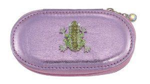 Frog Pink Small Make up Brush Case Set of 5 Brushes by Spring Street. $29.50. Frog Pink Small Make up Brush Case Set of 5 Brushes. A great compact way to take your beauty tools with you for everyday or for travel.. The Frog Charm is decorated with crystals.. The case contains 5 brushes and measures about 4 ¼ inches.. Make up Brush case with a Frog charm.. Make up Brush case with a Frog charm.  The case contains 5 brushes and measures about 4 ¼ inches.  The Frog Charm...