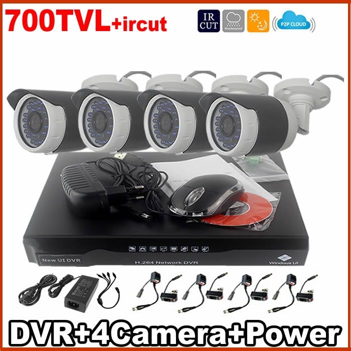 236.29$  Watch here - http://aliwf6.worldwells.pw/go.php?t=32649575767 - Promotion!700TVL kits Cheap Price h.264 4ch dvr cctv camera kit 4pcs 36leds outdoor waterproof bullet IR NIght Vision Home cams