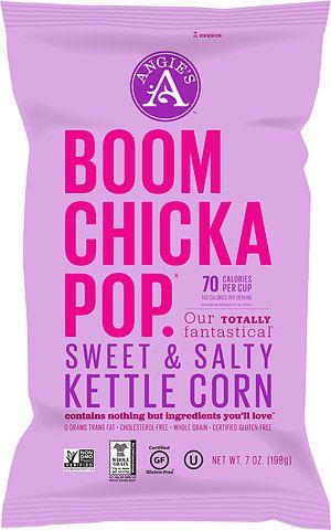 Angie's Popcorn, Angie's Kettle Corn, BOOMCHICKAPOP » BOOMCHICKAPOP sweet & salty